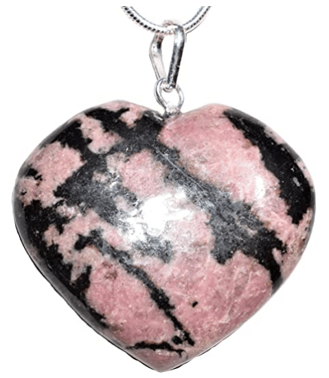 puffy heart pendant - positive mindset - Meditation Hypnosis