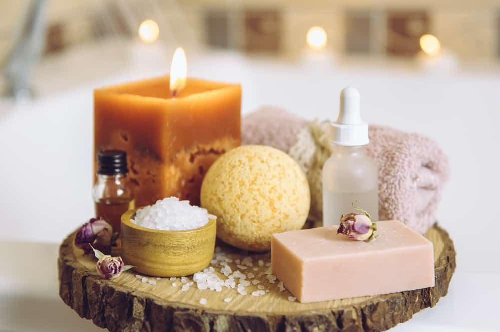 pamper yourself gift basket ideas