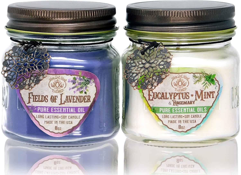 Aroma candles - self-care tips - self care advice