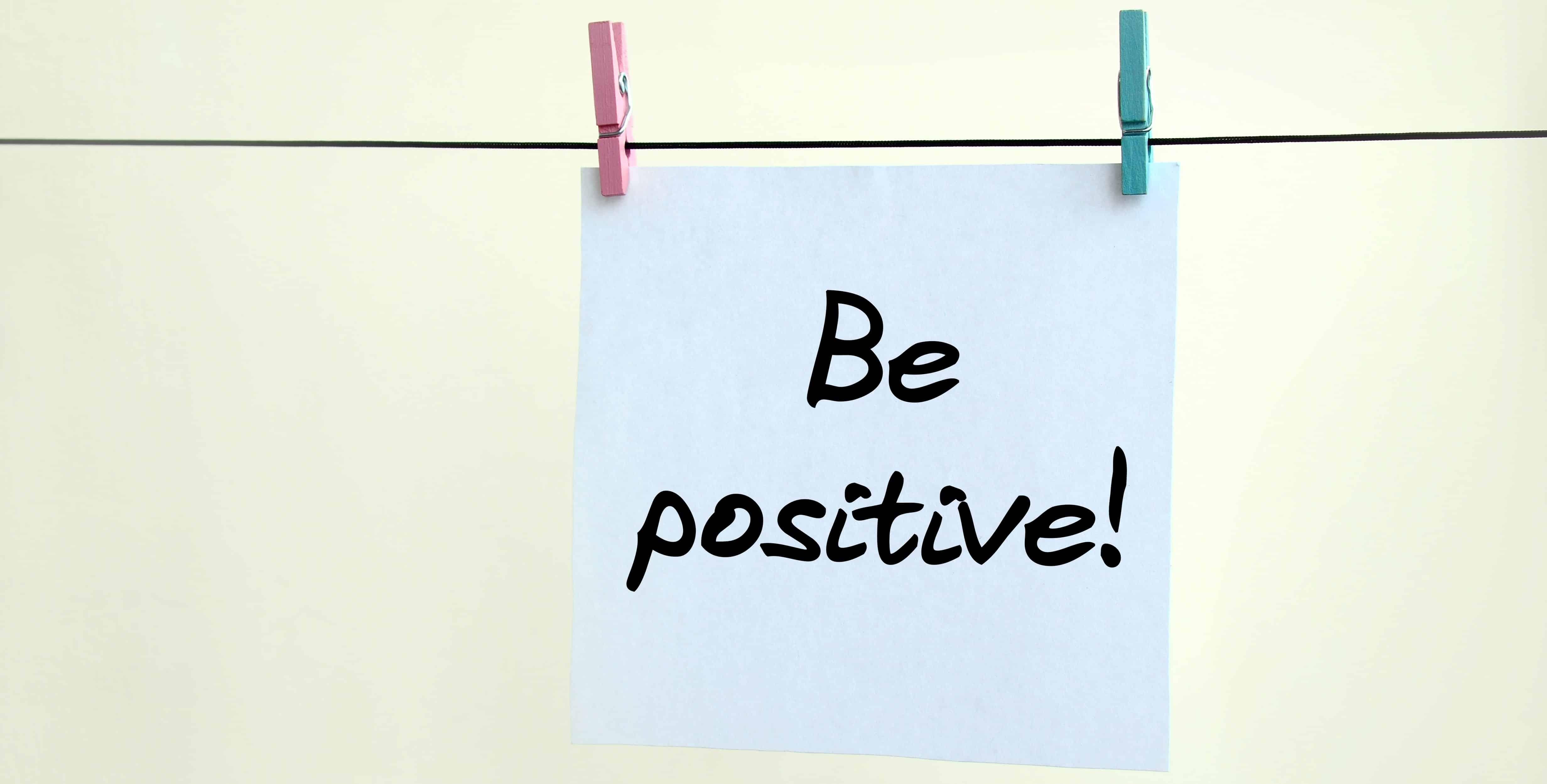 Be Positive - positive mindset - Meditation Hypnosis - self-care tips