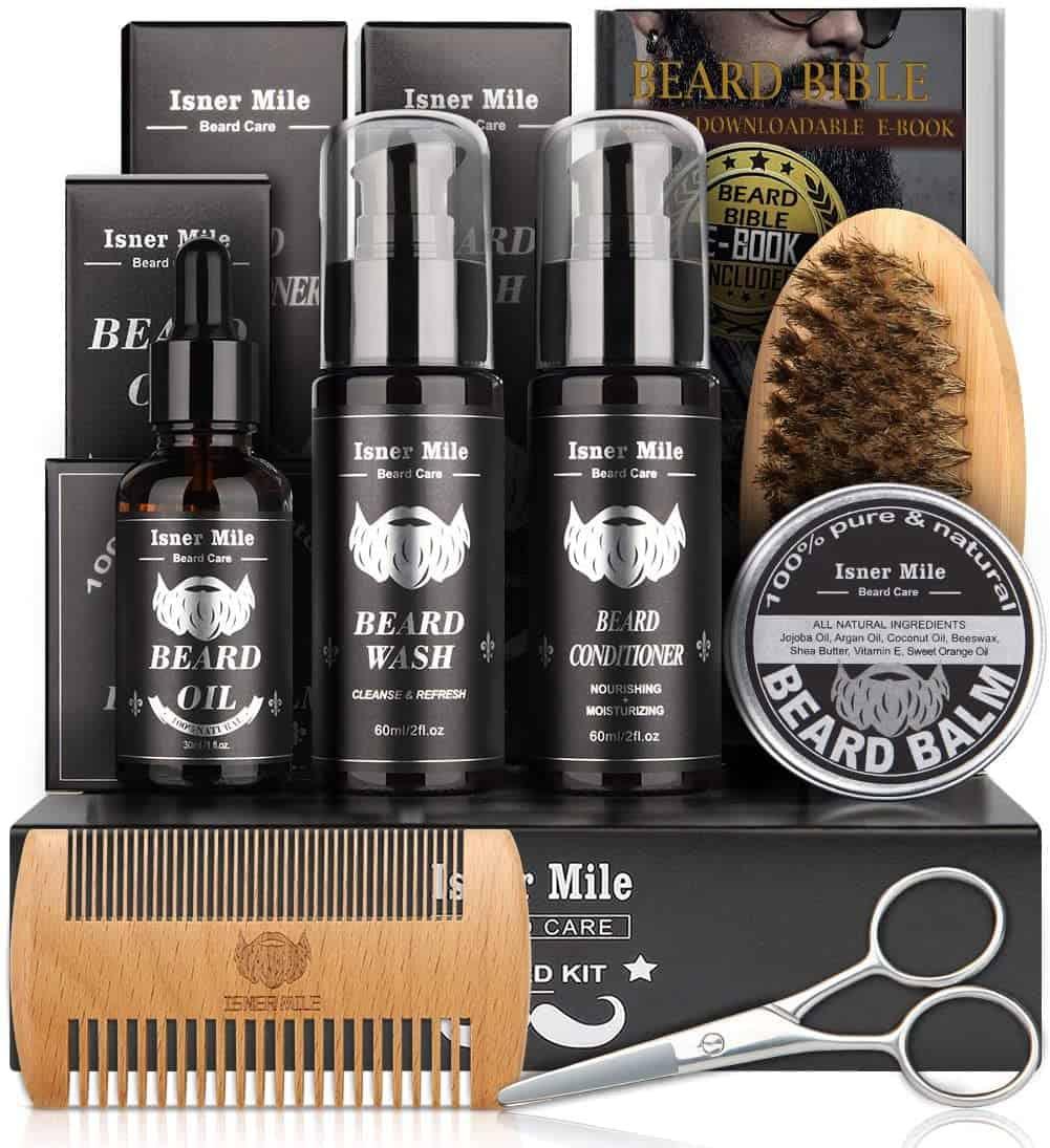 Beard grooming kit - self-care tips - self care advice