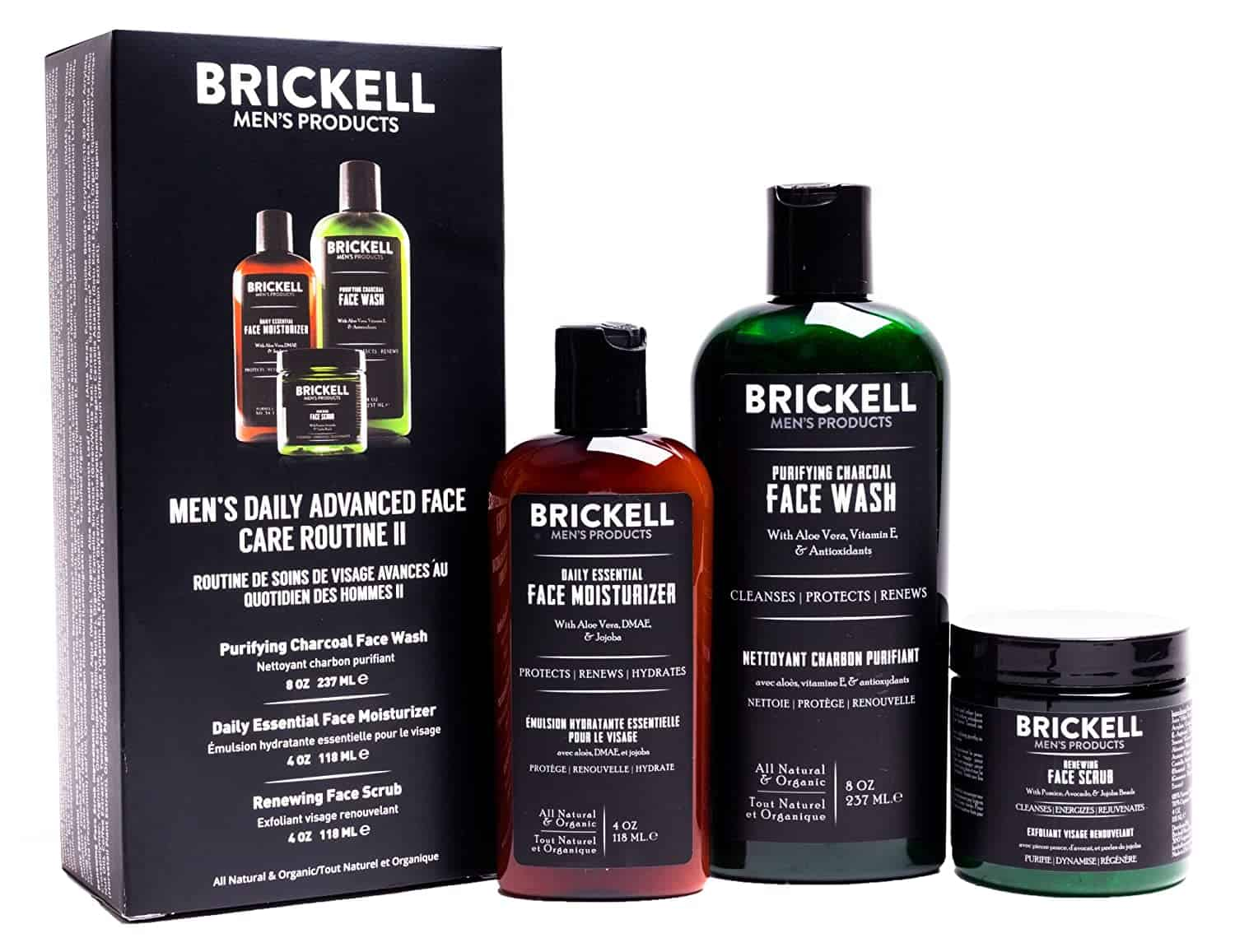 BRICKELL Mens Grooming Products - self-care tips
