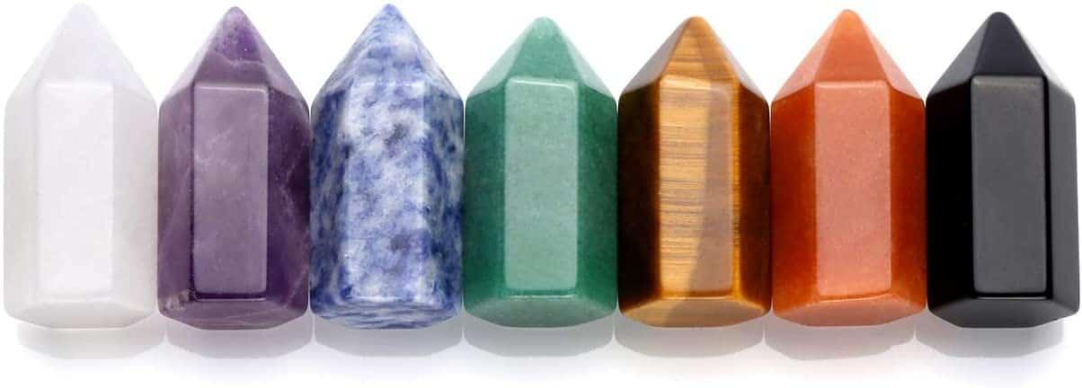 crystal wands - positive mindset - Meditation Hypnosis