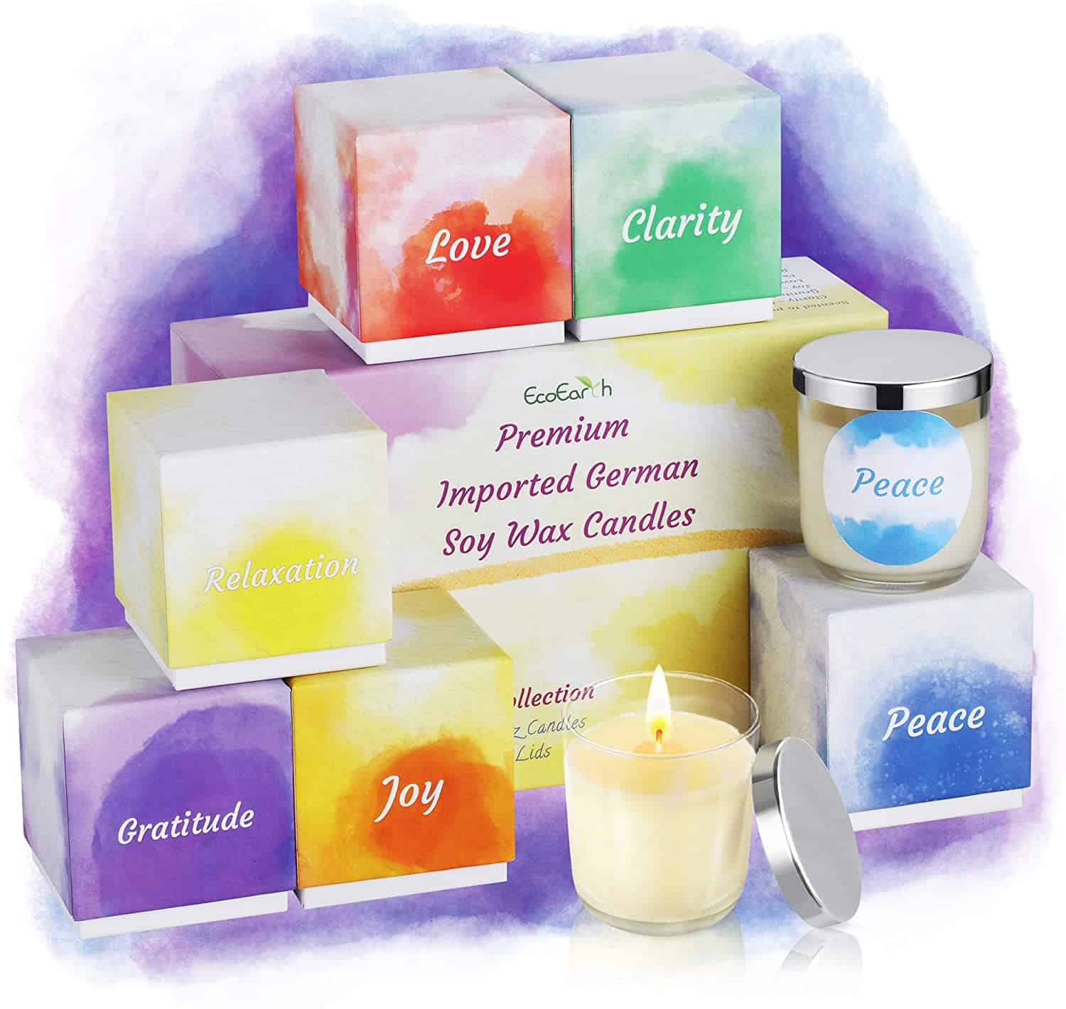 intention candles - self-care tips - self care advice