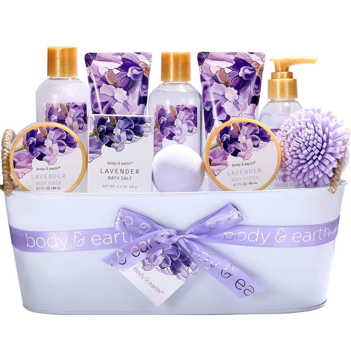 Lavender gift set - self care advice - self-care tips