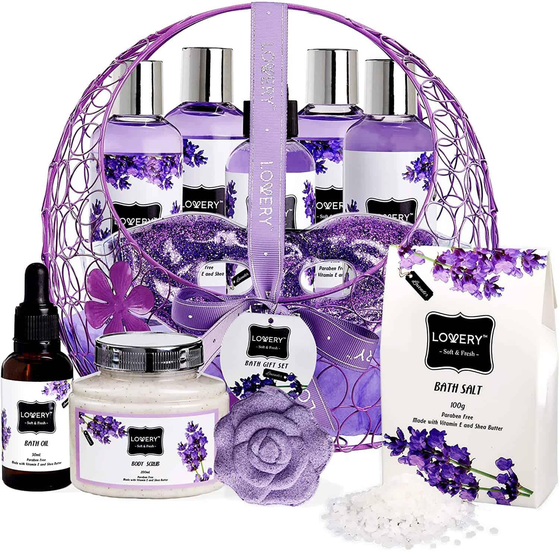 Lavender spa set - BUY - self care advice - self-care tips