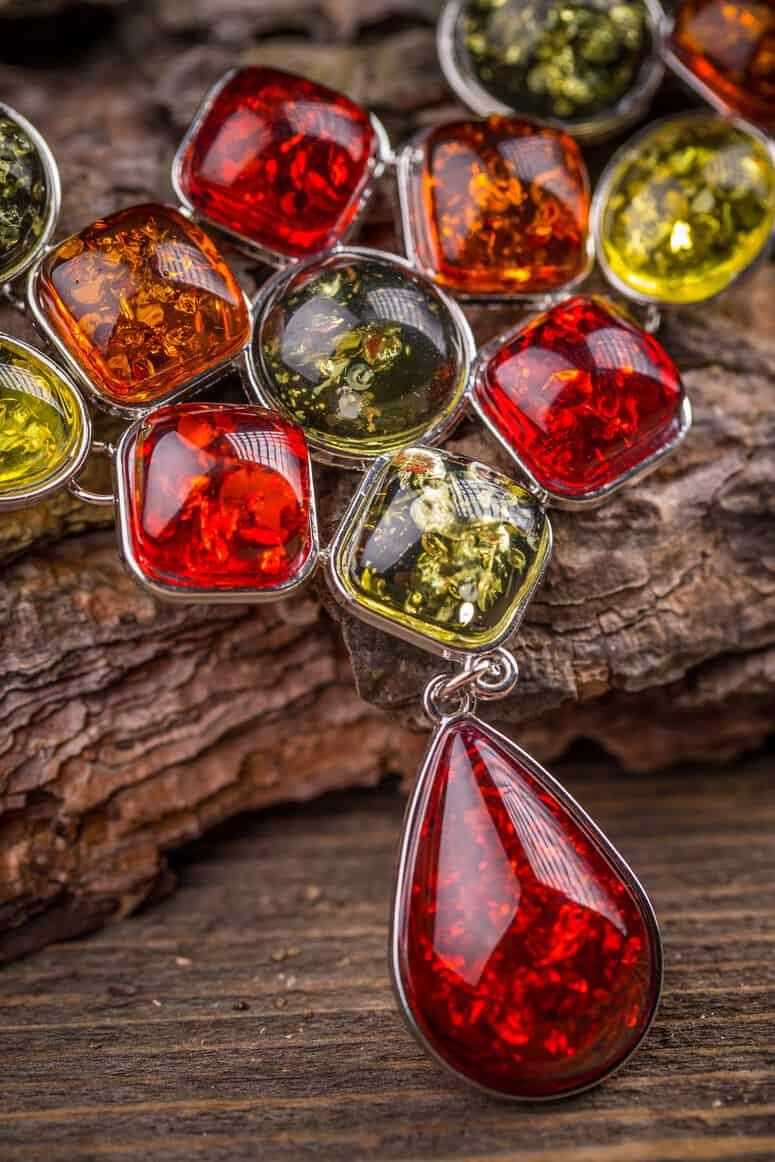Necklace made of rhinestone - self-care tips - self care advice