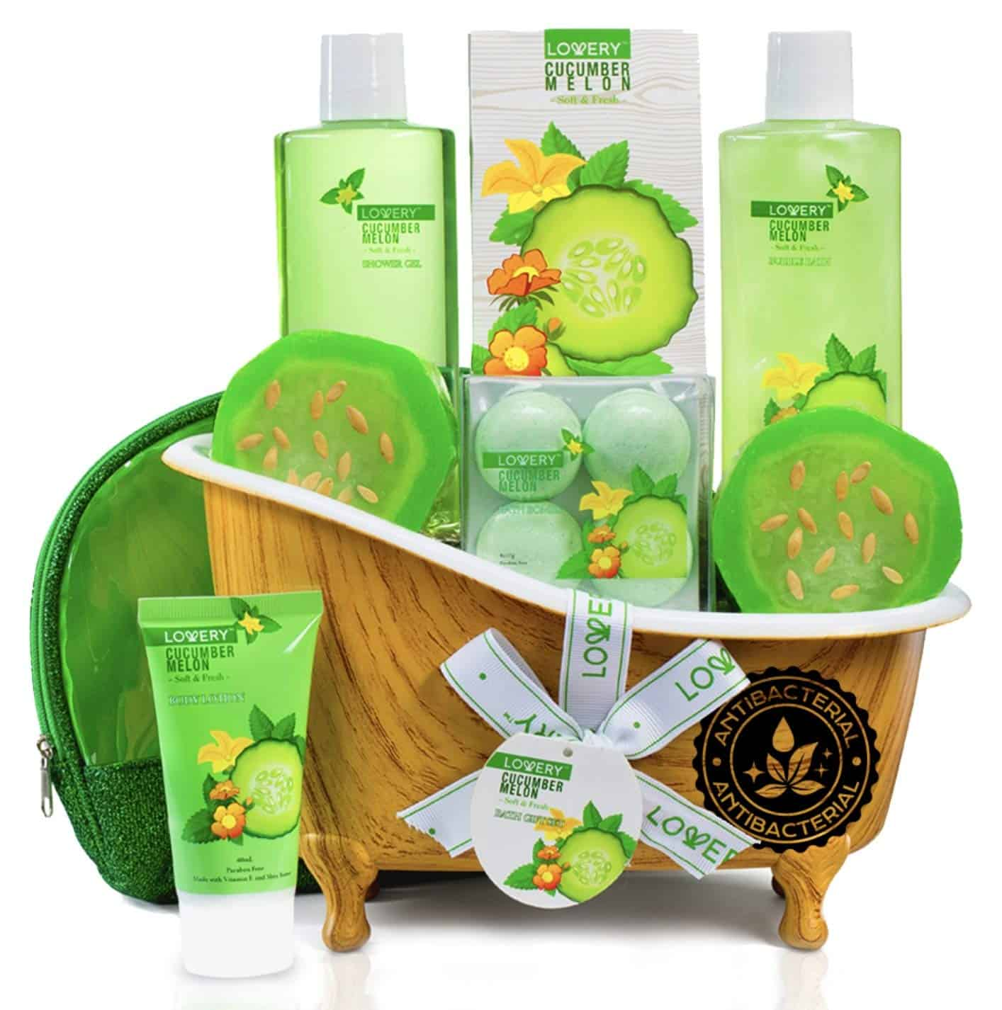 Spa bath basket gift - self care advice - self-care tips