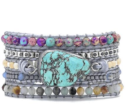 turquoise bracelet - self-care tips - self care advice