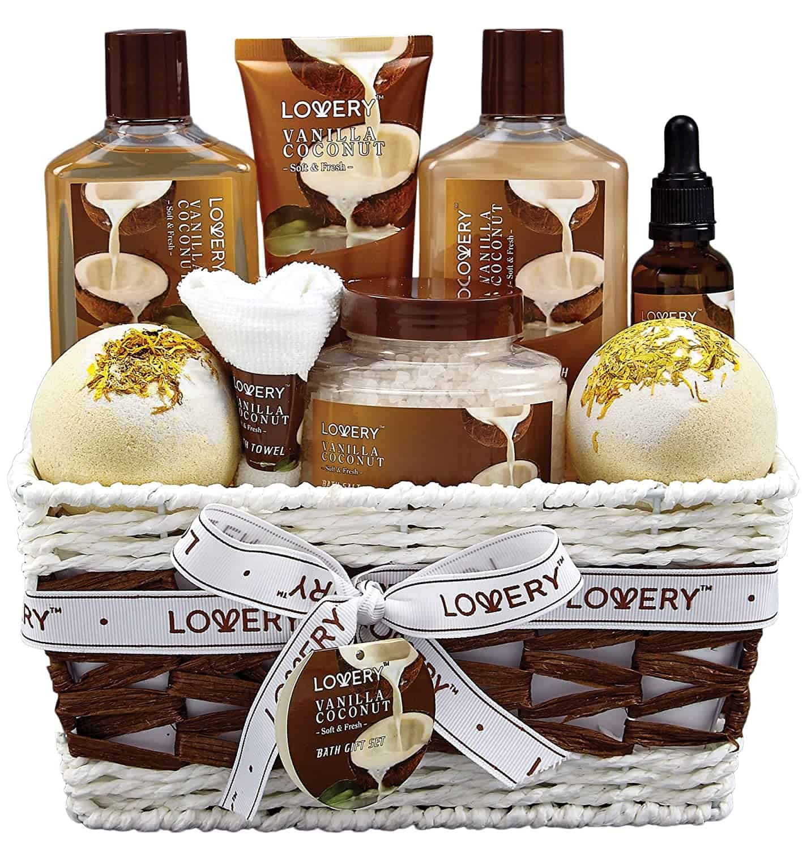 Vanilla Lotery gift set - self care advice - self-care tips