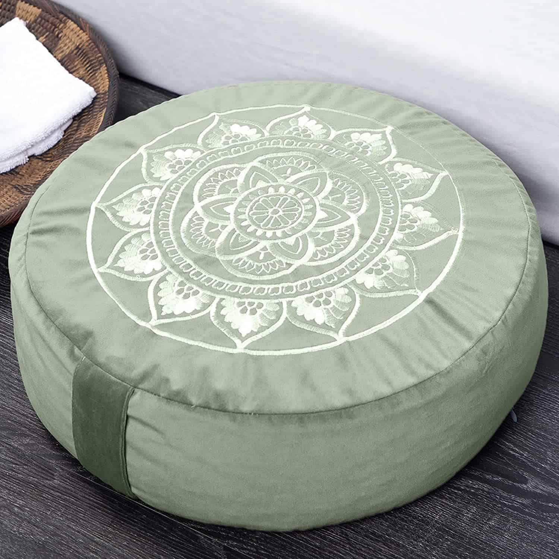 meditation cushion - positive mindset - Meditation Hypnosis