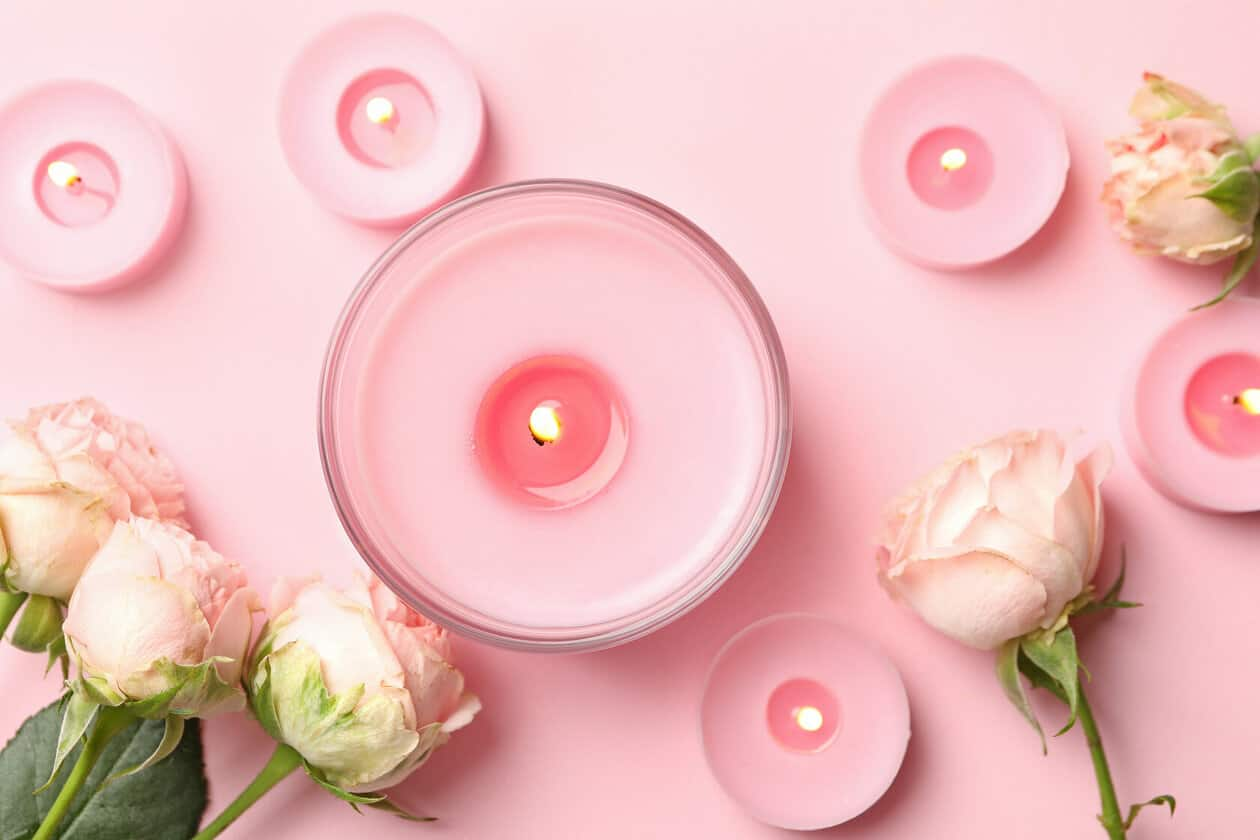 scented candles -self-care tips - self care advice
