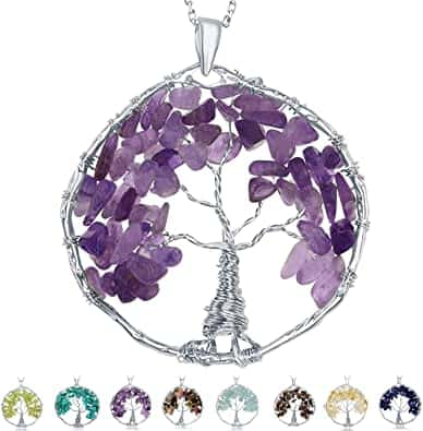 Natural Gemstone Beads Amethyst - positive mindset - Meditation Hypnosis