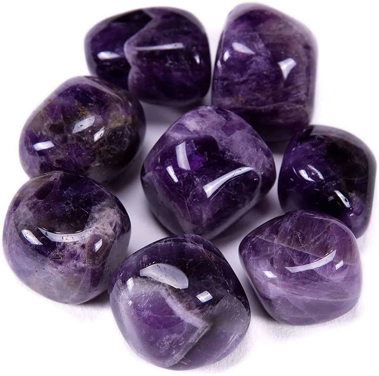 amethyst stones - positive mindset - Meditation Hypnosis