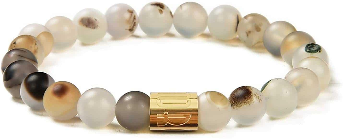 chalcedony bracelet - positive mindset - Meditation Hypnosis