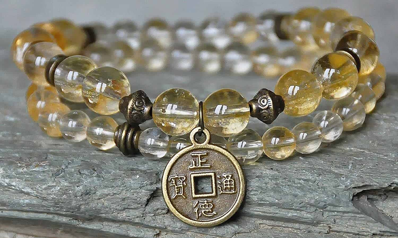 citrine gemstone - positive mindset - Meditation Hypnosis
