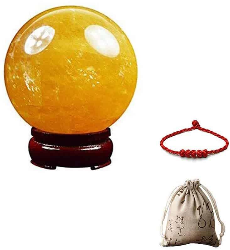 citrinr crystal ball - positive mindset - Meditation Hypnosis