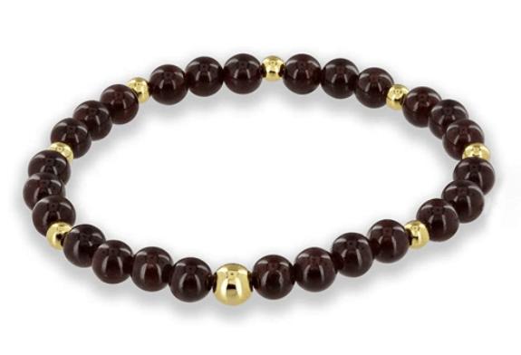 garnet beads - positive mindset - Meditation Hypnosis