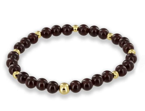 garnet mala beads - positive mindset - Meditation Hypnosis