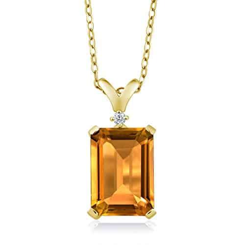 gem stone yellow citrine - positive mindset - Meditation Hypnosis