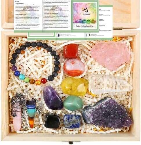 healing crystals - positive mindset - Meditation Hypnosis